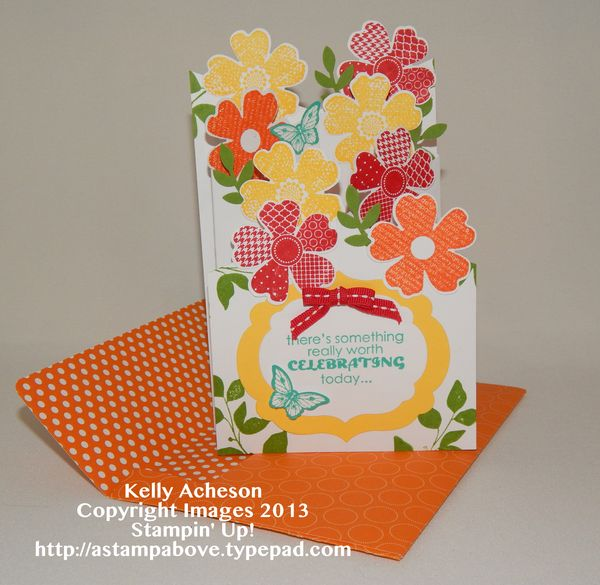 Cascading card video tutorial a stamp above m4hsunfo