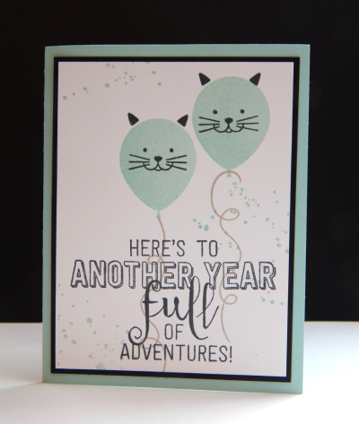 Check out the video on my blog using Stampin' Up! Balloon Adventures! #AStampAbove.com #stampin'up! #balloonadventures