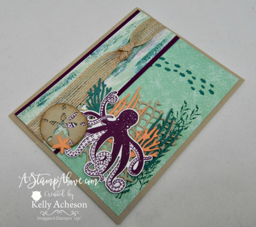 Learn my easy technique for making a card that looks like it will take a ton of time, but doesn't! You'll find all the details and a video tutorial on my blog. www.AStampAbove.com