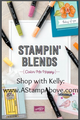 Click here to see all the details for Stampin' Blends alcohol markers! www.AStampAbove.com
