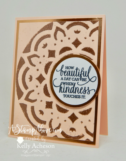 Learn how to use the DECORATIVE MASKS to emboss with! I have a short video tutorial on my blog - just click the photo. www.AStampAbove.com
