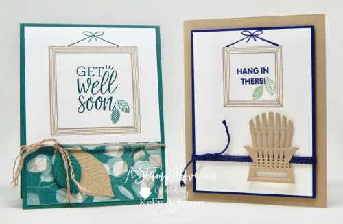 ORDER STAMPIN' UP! PRODUCTS ON-LINE. Purchase the $99 Starter Kit & enjoy a 20% discount! 1000+ paper crafting ideas & FREE Online Classes. Learn how to make these cards using a new stamp set and some manly elements. www.AStampAbove.com
