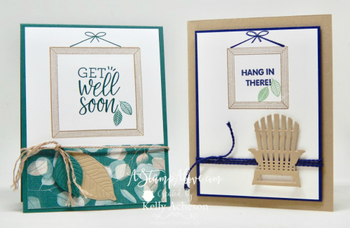 ORDER STAMPIN' UP! PRODUCTS ON-LINE. Purchase the $99 Starter Kit & enjoy a 20% discount! Tons of paper crafting ideas & FREE Online Classes. Learn how to make this card using a new stamp set and some manly leaves. www.AStampAbove.com