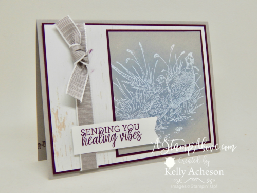 Sneak Peek - Pleasant Pheasants - ORDER STAMPIN' UP! PRODUCTS ON-LINE. Purchase the $99 Starter Kit & enjoy a 20% discount! Tons of paper crafting ideas & FREE Online Classes.