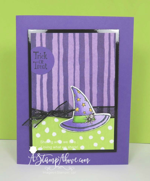 CAULDRON BUBBLE - ORDER STAMPIN' UP! PRODUCTS ON-LINE. Purchase the $99 Starter Kit & enjoy a 20% discount! Tons of paper crafting ideas & FREE Online Classes. www.AStampAbove.com