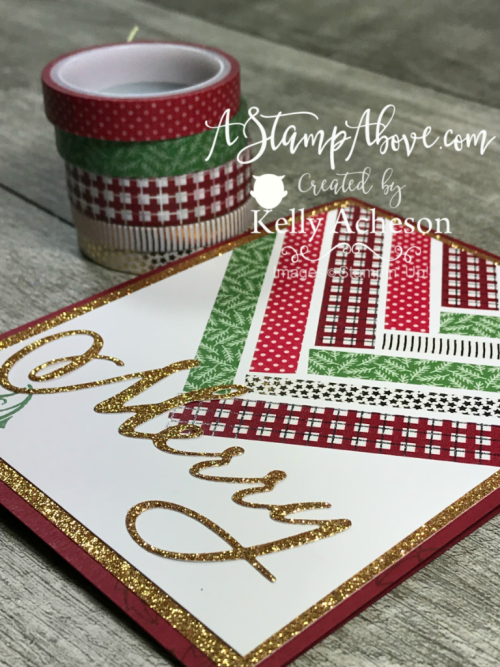 Suite Season Washi Tape Tip Video - ORDER STAMPIN' UP! PRODUCTS ON-LINE. Purchase the $99 Starter Kit & enjoy a 20% discount! Tons of paper crafting ideas & FREE Online Classes. www.AStampAbove.com