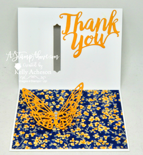 IDEO TUTORIAL - this card was part of my Facebook Live stamping class - you'll find the video tutorial and all the dimensions/ingredients on my blog when you click the photo. www.AStampAbove.com