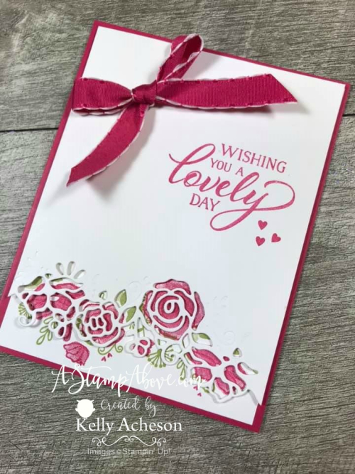 NEW ONLINE CLASS ❤SHOP❤ ORDER STAMPIN' UP! PRODUCTS ON-LINE. Purchase the $99 Starter Kit & enjoy a 20% discount! Tons of paper crafting ideas & FREE Online Classes. www.AStampAbove.com