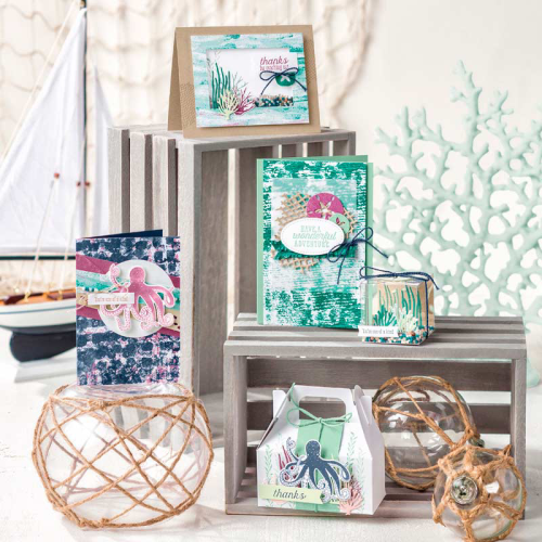 NEW ONLINE CLASS! Click on this photo to see how to get this fabulous online class FREE! The Tranquil Textures Suite is simply adorable! 9 exclusive cards - each with an exclusive video tutorial - you'll LOVE it!. www.AStampAbove.com