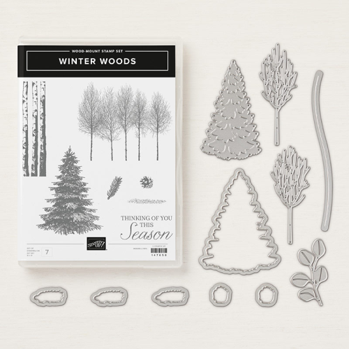 WINTER WOODS - ORDER STAMPIN' UP! PRODUCTS ON-LINE. Purchase the $99 Starter Kit & enjoy a 20% discount! Tons of paper crafting ideas & FREE Online Classes. www.AStampAbove.com
