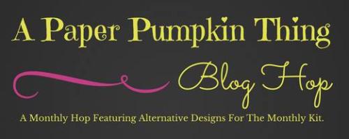 Paper Pumpkin Blog Hop Banner