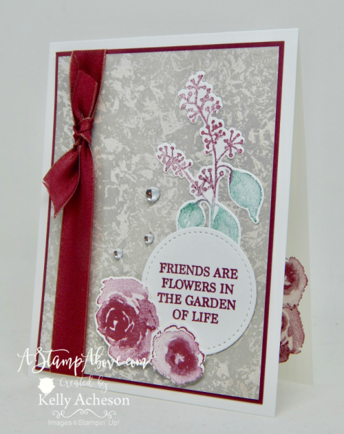 First Frost with the Mother of Pearl technique - ORDER STAMPIN' UP! PRODUCTS ON-LINE. Purchase the $99 Starter Kit & enjoy a 20% discount! Tons of paper crafting ideas & FREE Online Classes. www.AStampAbove.com