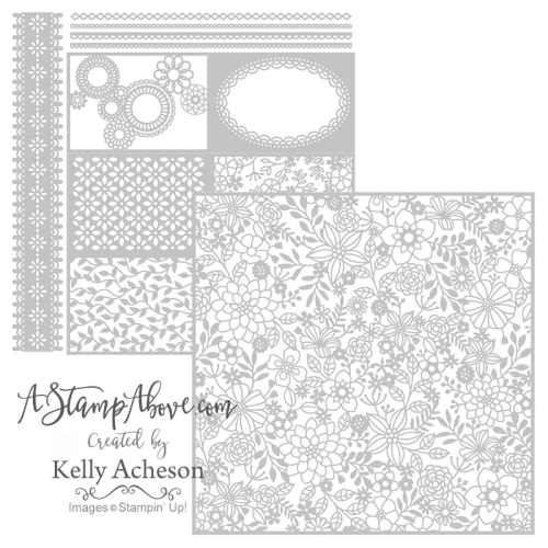 Get this gorgeous laser cut paper in my store. www.AStampAbove.com