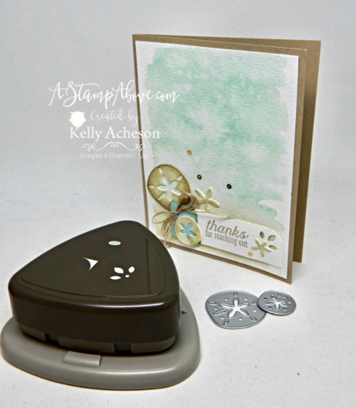 The Sea of Texture bundle from Stampin' Up! is one of my favorites! You'll find all the details for this card and ordering links if you'd like to get this bundle on my blog. Just click on the photo. www.AStampAbove.com