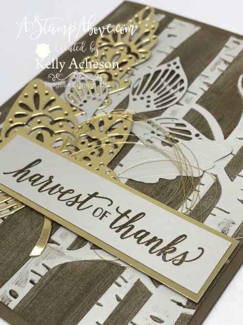Falling for Leaves - ORDER STAMPIN' UP! PRODUCTS ON-LINE. Purchase the $99 Starter Kit & enjoy a 20% discount! Tons of paper crafting ideas & FREE Online Classes. www.AStampAbove.com