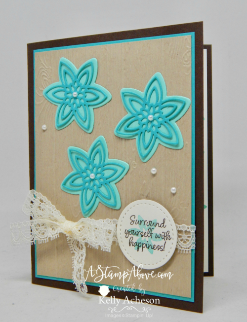 HAPPINESS SURROUNDS VIDEO - ORDER STAMPIN' UP! PRODUCTS ON-LINE. Purchase the $99 Starter Kit & enjoy a 20% discount! Tons of paper crafting ideas & FREE Online Classes. www.AStampAbove.com