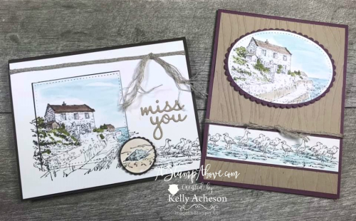 By the Bay - FREE with your $50 order! ❤SHOP❤ CLICK FOR DETAILS - ORDER STAMPIN' UP! PRODUCTS ON-LINE. Purchase the $99 Starter Kit & enjoy a 20% discount! Tons of paper crafting ideas & FREE Online Classes. www.AStampAbove.com