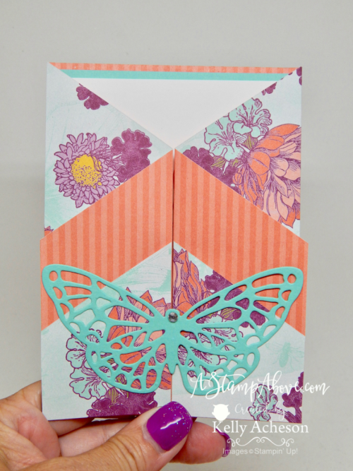VIDEO TUTORIAL - Learn how to make these fun folds - just click the photo to get the details. www.AStampAbove.com