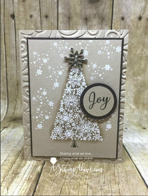 Available only in November! ORDER STAMPIN' UP! PRODUCTS ON-LINE. Purchase the $99 Starter Kit & enjoy a 20% discount! Tons of paper crafting ideas & FREE Online Classes. www.AStampAbove.com