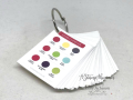 VIDEO TUTORIAL showing how to make one of these Color Coaches - printable links when you click the photo. www.AStampAbove.com