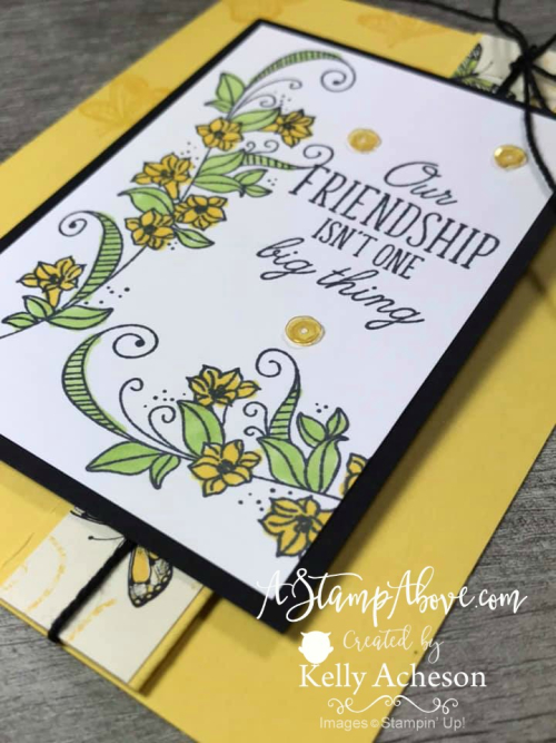 Sneak Peek & Video Tutorial - ORDER STAMPIN' UP! PRODUCTS ON-LINE. Purchase the $99 Starter Kit & enjoy a 20% discount! Tons of paper crafting ideas & FREE Online Classes. www.AStampAbove.com
