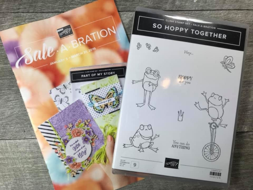 FREE During Sale-a-Bration - ORDER STAMPIN' UP! PRODUCTS ON-LINE. Purchase the $99 Starter Kit & enjoy a 20% discount! Tons of paper crafting ideas & FREE Online Classes. www.AStampAbove.com
