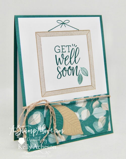 ORDER STAMPIN' UP! PRODUCTS ON-LINE. Purchase the $99 Starter Kit & enjoy a 20% discount! 1000+ paper crafting ideas & FREE Online Classes. Learn how to make this card using a new stamp set and some manly leaves. www.AStampAbove.com
