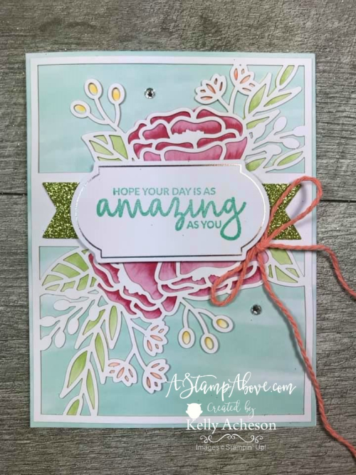 Incredible Like You - ❤SHOP❤ ORDER STAMPIN' UP! PRODUCTS ON-LINE. Purchase the $99 Starter Kit & enjoy a 20% discount! Tons of paper crafting ideas & FREE Online Classes. www.AStampAbove.com