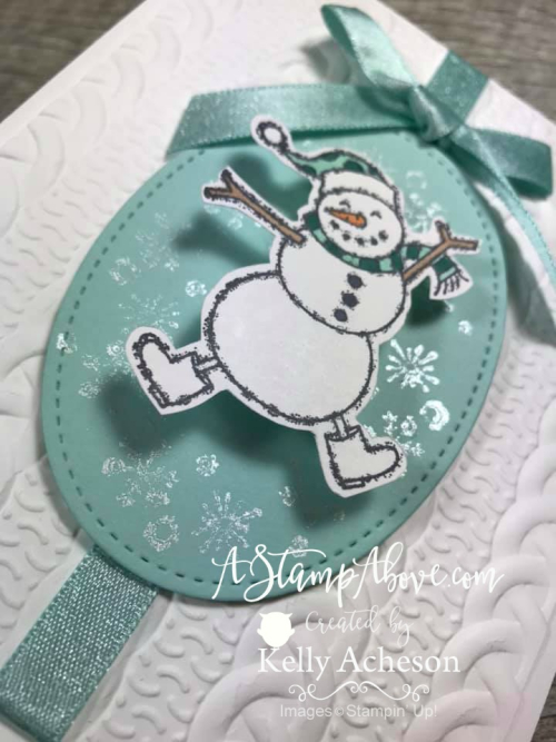 Wobbling Snowman - ORDER STAMPIN' UP! PRODUCTS ON-LINE. Purchase the $99 Starter Kit & enjoy a 20% discount! Tons of paper crafting ideas & FREE Online Classes. www.AStampAbove.com