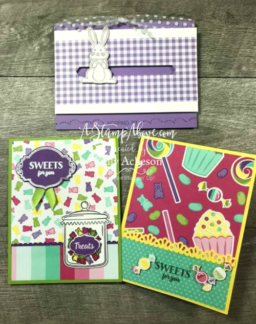 Sweetest Thing Bundle VIDEO TUTORIAL - ❤️SHOP❤️ CLICK FOR DETAILS - ORDER STAMPIN' UP! PRODUCTS ON-LINE. Purchase the $99 Starter Kit & enjoy a 20% discount! Tons of paper crafting ideas & FREE Online Classes. www.AStampAbove.com