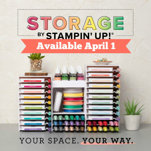 ORGANIZE YOUR INK PADS! Click for details - ❤️SHOP❤️ - ORDER STAMPIN' UP! PRODUCTS ON-LINE. Purchase the $99 Starter Kit & enjoy a 20% discount! Tons of paper crafting ideas & FREE Online Classes. www.AStampAbove.com
