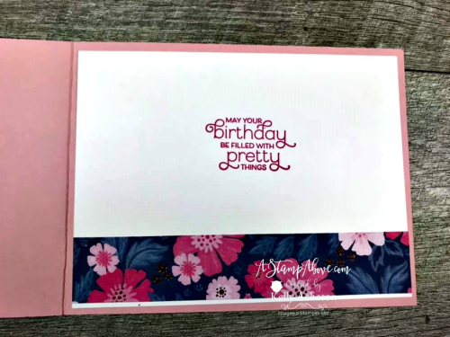 Everything is Rosy Medley -  Click for details - ❤️SHOP❤️ - ORDER STAMPIN' UP! PRODUCTS ON-LINE. Purchase the $99 Starter Kit & enjoy a 20% discount! Tons of paper crafting ideas & FREE Online Classes. www.AStampAbove.com
