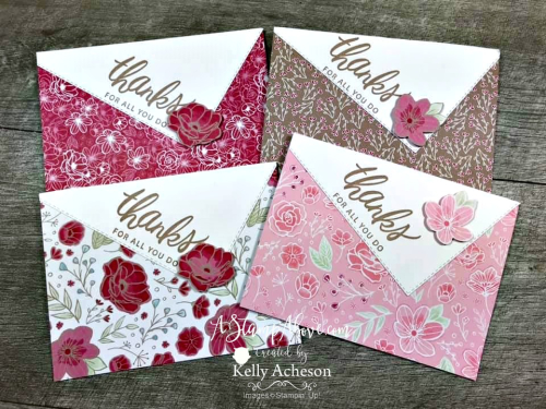 Easy Gift Set Video Tutorial - Click for details - ❤️SHOP❤️ - ORDER STAMPIN' UP! PRODUCTS ON-LINE. Purchase the $99 Starter Kit & enjoy a 20% discount! Tons of paper crafting ideas & FREE Online Classes. www.AStampAbove.com