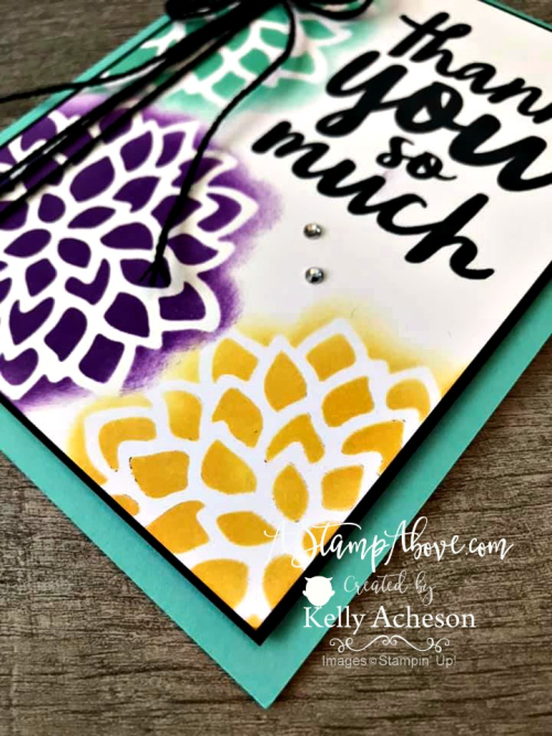 Make your own stencils video tutorial - Click for details - ❤️SHOP❤️ - ORDER STAMPIN' UP! PRODUCTS ON-LINE. Purchase the $99 Starter Kit & enjoy a 20% discount! Tons of paper crafting ideas & FREE Online Classes. www.AStampAbove.com
