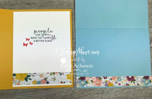 Color Fold Inside - Click for details - ❤️SHOP❤️ - ORDER STAMPIN' UP! PRODUCTS ON-LINE. Purchase the $99 Starter Kit & enjoy a 20% discount! Tons of paper crafting ideas & FREE Online Classes. www.AStampAbove.com