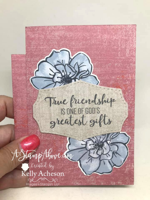 Fun Fold VIDEO TUTORIAL - Click for details - ❤SHOP❤ - ORDER STAMPIN' UP! PRODUCTS ON-LINE. Purchase the $99 Starter Kit & enjoy a 20% discount! Tons of paper crafting ideas & FREE Online Classes. www.AStampAbove.com69508749_10220219200212665_1375488865959149568_n