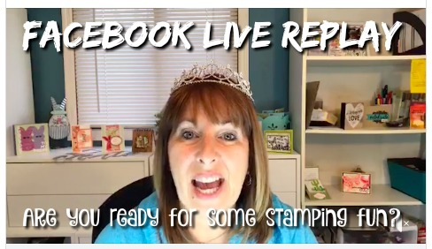 FB Live Replay -  Click for details - ❤️SHOP❤️ - ORDER STAMPIN' UP! PRODUCTS ON-LINE. Purchase the $99 Starter Kit & enjoy a 20% discount! Tons of paper crafting ideas & FREE Online Classes. www.AStampAbove.com
