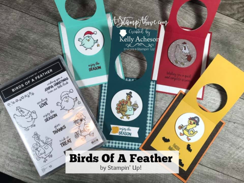 Birds of a Feather - 4 great fun fold cards VIDEO TUTORIAL - Click for details - ❤️SHOP❤️ - ORDER STAMPIN' UP! PRODUCTS ON-LINE. Purchase the $99 Starter Kit & enjoy a 20% discount! Tons of paper crafting ideas & FREE Online Classes. www.AStampAbove.com