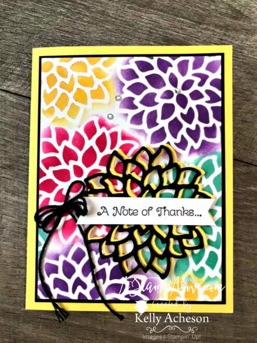 Make your own stencils video tutorial - Click for details - ❤️SHOP❤️ - ORDER STAMPIN' UP! PRODUCTS ON-LINE. Purchase the $99 Starter Kit & enjoy a 20% discount! Tons of paper crafting ideas & FREE Online Classes. www.AStampAbove.com61938426_10219444772412454_708806136555372544_n