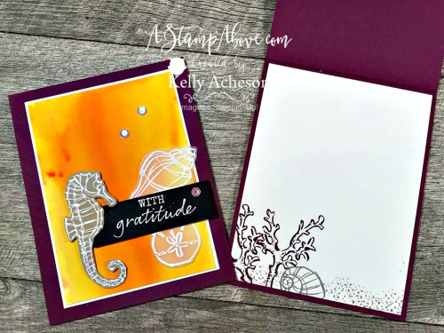 Check out the newest projects using PIGMENT SPRINKLES by the Stamping Society Design Team! Seaside Notions stamp set. VIDEO TUTORIAL - Click for details - ️SHOP️ - ORDER STAMPIN' UP! PRODUCTS ON-LINE. Purchase the $99 Starter Kit & enjoy a 20% discount! Tons of paper crafting ideas & FREE Online Classes. www.AStampAbove.com