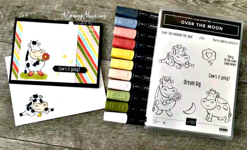 BRAND NEW VIDEO - Over the Moon - Click for details - ❤️SHOP❤️ - ORDER STAMPIN' UP! PRODUCTS ON-LINE. Purchase the $99 Starter Kit & enjoy a 20% discount! Tons of paper crafting ideas & FREE Online Classes. www.AStampAbove.com