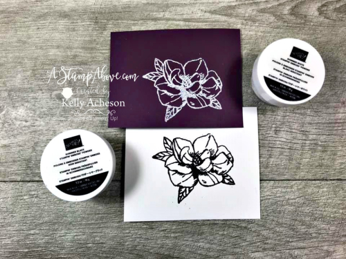 BRAND NEW SHIMME POWDER VIDEO - Click for details - ❤️SHOP❤️ - ORDER STAMPIN' UP! PRODUCTS ON-LINE. Purchase the $99 Starter Kit & enjoy a 20% discount! Tons of paper crafting ideas & FREE Online Classes. www.AStampAbove.com