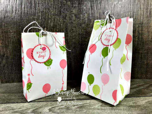 BAG-A-LOPE VIDEO TUTORIAL - Click for details - ❤️SHOP❤️ - ORDER STAMPIN' UP! PRODUCTS ON-LINE. Purchase the $99 Starter Kit & enjoy a 20% discount! Tons of paper crafting ideas & FREE Online Classes. www.AStampAbove.com