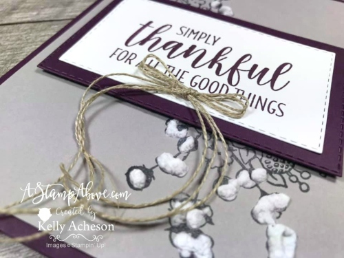 Puff Paint Tips (Country Home by Stampin' Up!)VIDEO TUTORIAL - Click for details - ️SHOP ️ - ORDER STAMPIN' UP! PRODUCTS ON-LINE. Purchase the $99 Starter Kit & enjoy a 20% discount! Tons of paper crafting ideas & FREE Online Classes. www.AStampAbove.com