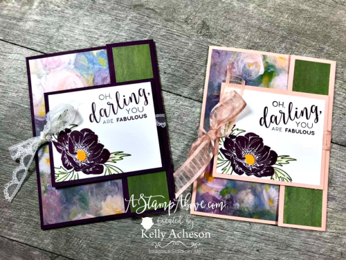 FUN FOLD - FACEBOOK LIVE VIDEO TUTORIAL - Click for details - ❤️SHOP❤️ - ORDER STAMPIN' UP! PRODUCTS ON-LINE. Purchase the $99 Starter Kit & enjoy a 20% discount! Tons of paper crafting ideas & FREE Online Classes. www.AStampAbove.com
