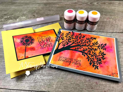 Pigment Sprinkles -  VIDEO TUTORIAL - Click for details - ❤️SHOP❤️ - ORDER STAMPIN' UP! PRODUCTS ON-LINE. Purchase the $99 Starter Kit & enjoy a 20% discount! Tons of paper crafting ideas & FREE Online Classes. www.AStampAbove.com