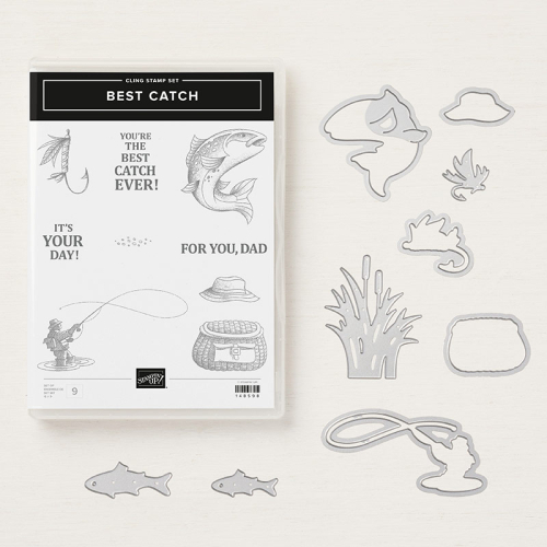 Best Catch - Click for details - ❤️SHOP❤️ - ORDER STAMPIN' UP! PRODUCTS ON-LINE. Purchase the $99 Starter Kit & enjoy a 20% discount! Tons of paper crafting ideas & FREE Online Classes. www.AStampAbove.com