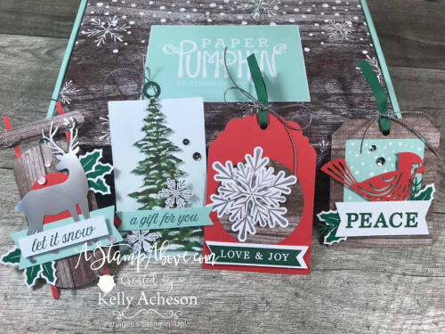 December Paper Pumpkin Kit Alternate Ideas VIDEO TUTORIAL - Click for details - ️SHOP ️ - ORDER STAMPIN' UP! PRODUCTS ON-LINE. Purchase the $99 Starter Kit & enjoy a 20% discount! Tons of paper crafting ideas & FREE Online Classes. www.AStampAbove.com