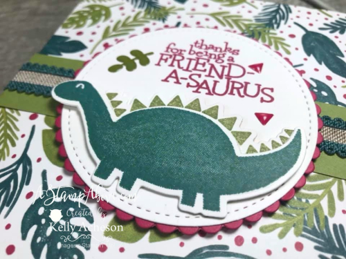 NEW Dino Days Online Class - Learn how to get it for FREE! Learn how to make this adorable box in the FREE VIDEO TUTORIAL - Click for details - ❤️SHOP❤️ - ORDER STAMPIN' UP! PRODUCTS ON-LINE. Purchase the $99 Starter Kit & enjoy a 20% discount! Tons of paper crafting ideas & FREE Online Classes. www.AStampAbove.com