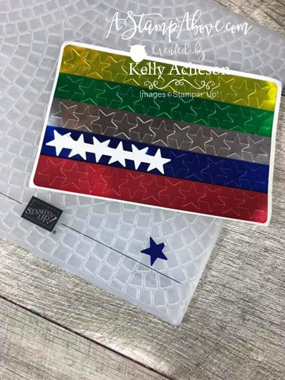 3D EMBOSSING PLATE VIDEO TUTORIAL - Click for details - ❤️SHOP❤️ - ORDER STAMPIN' UP! PRODUCTS ON-LINE. Purchase the $99 Starter Kit & enjoy a 20% discount! Tons of paper crafting ideas & FREE Online Classes. www.AStampAbove.com